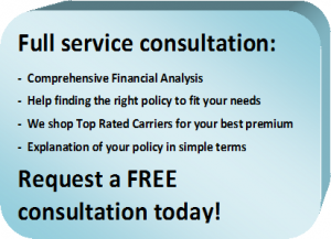 Full service consultation | We shop top rated carriers for your best premium